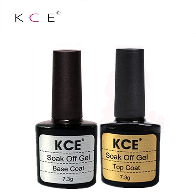 KCE 10ml 2pcs / lot Gel de unghii de bază de bază pentru unghii de - Manichiură