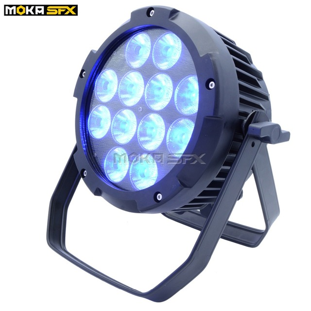 IP65 Waterproof RGBWA+UV 6IN1 LED battery Par Light  Stage Projector Christmas LED Par Light DMX 512 Stage Lighting