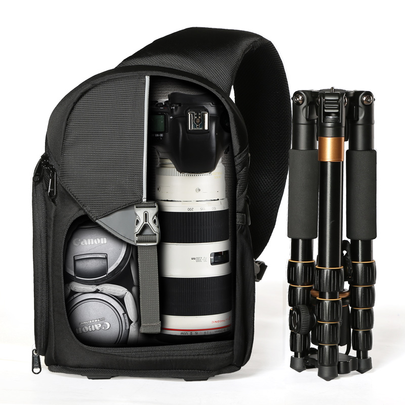 AINO GIRL Single shoulder SLR photography bag Canon micro single backpack 70d 700d 5d3 camera bag цена и фото
