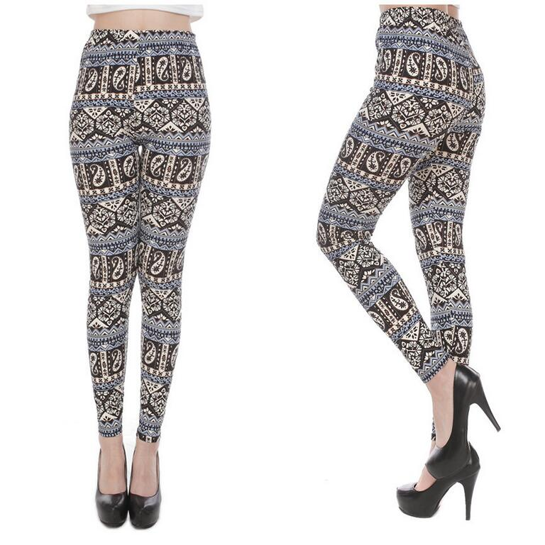 Fitness Pant Autumn Leggings Legging Sexy Printed Elasticity Women Spring Hight Waist UTYSWcXq