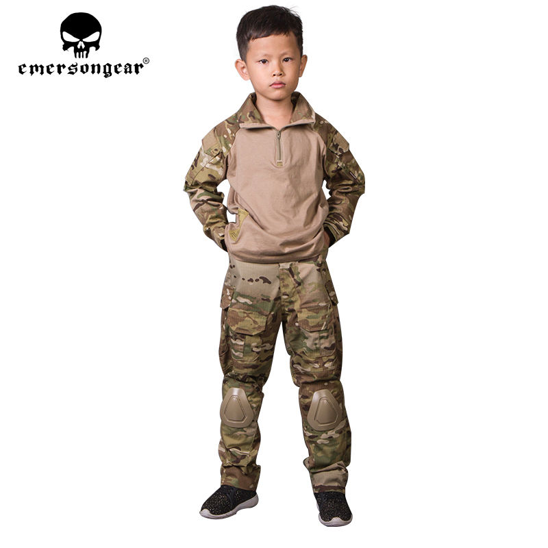 emersongear G3 MC Children Tactical Suit Kid Camouflage Hunting Sportswear 5Y-14Y Kids Tracksuit EM6895emersongear G3 MC Children Tactical Suit Kid Camouflage Hunting Sportswear 5Y-14Y Kids Tracksuit EM6895