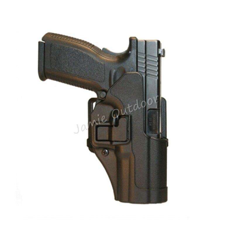 Tactical Gun Pistol Holster Belt Waist Protection Hunting Airsoft Gun Holster for Gl 17 19 22