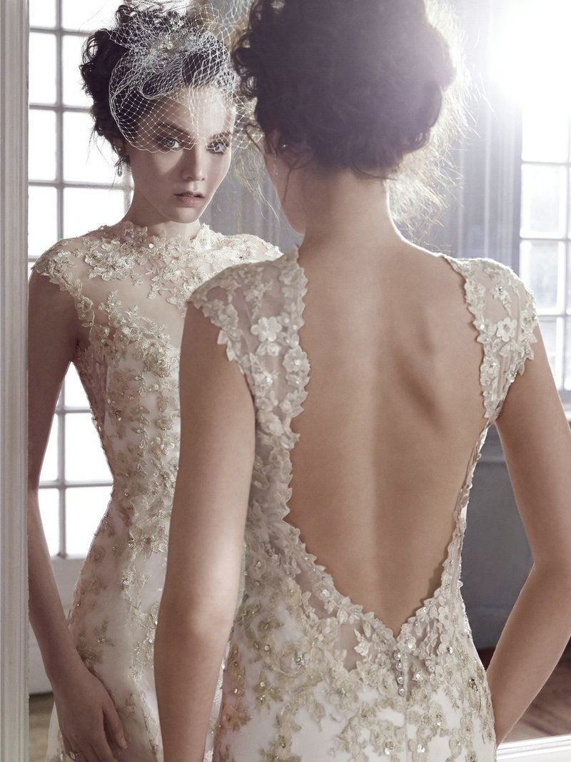 White gold wedding dresses sheath high neck lace wedding dress sweep white gold wedding dresses sheath high neck lace wedding dress sweep train sleeveless wedding dress bell sleeves in wedding dresses from weddings events junglespirit Image collections