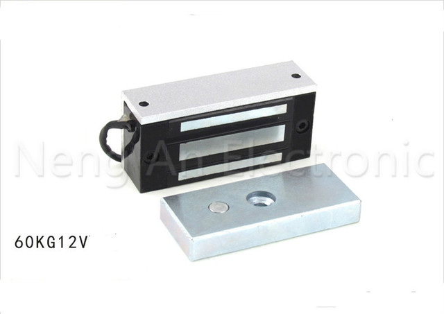 High Quality Durable Electric Lock Dc 12v 60kg 132lbs Electromagnetic Electronic Door Magnetic Cabinet