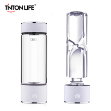 TINTON LIFE SPE/PEM Technology Hydrogen Water Generator 420ml Cup Body Alkaline Water Ionizer Bottle Hydrogen Rich Water Maker
