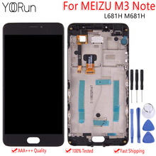 Original Display For Meizu M3 Note LCD Touch Screen 5.5 Digitizer With Frame Replacement MEIZU M681H L681H