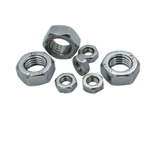 Free Shipping M14/M16/M18/M20/M22/M24/M27/M30 304 Stainless Steel Hex Nut DIN934 qintides m14 m16 m18 m20 m22 m24 hexagon domed cap nuts 304 stainless steel acorn nuts ball head cap nut