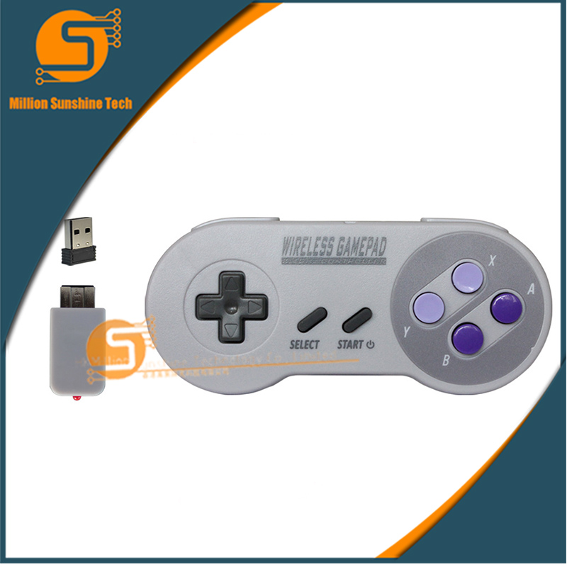 The classic Mini Mini Wireless USB game handle free shipping