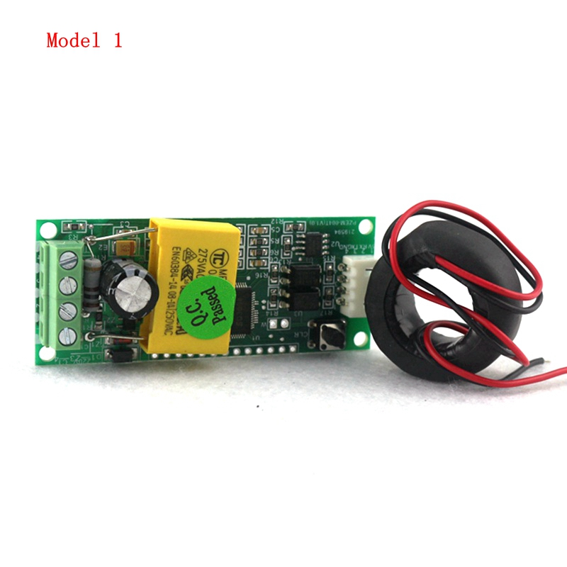 AC 80~260V 100A Mini Multifuncion Power Energy Amp Voltage Monitor Meter Communication Module with CT coil