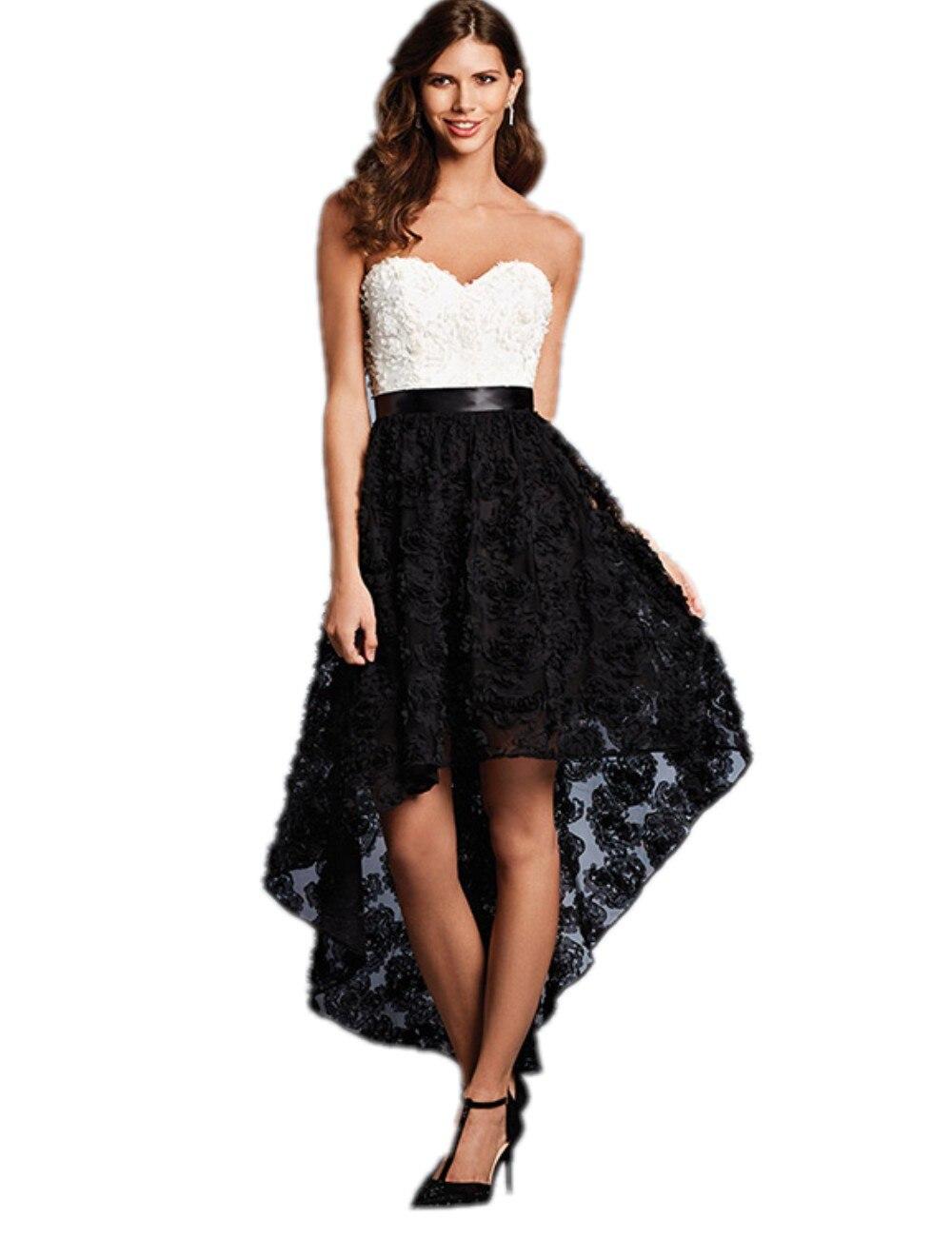 b2e33f3e9 Imagenes vestidos blanco y negro – Vestidos baratos