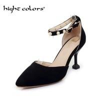 2018 Fashion High Heels Newest Women Pumps Summer Women Shoes Thin Heel Pumps Comfortable Shoes Woman