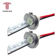 Taochis 12 V 75 W 100 w H7 HID запасные автомобиль огни 4300 k 5000 k 6000 k 8000 k спереди лампа ксеноновая авто фар