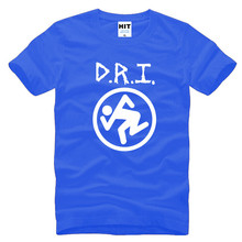 Dirty Rotten Imbeciles D.R.I Thrash Metal Rock Mens Men T Shirt Tshirt 2016 Fashion O Neck Cotton T-shirt Tee Camisetas Hombre