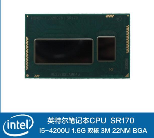 INTEL четыре поколения BGA CPU I5-4200U SR170 low-power низкого напряжения промышленные ноутбук ПРОЦЕССОРА