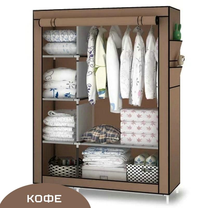 When the quarter wardrobe DIY Non-woven fold Portable Storage Cabinet large capacity wardrobe diy non woven foldable portable storage cabinet bedroom furniture minimalist modern 170x105x45cm