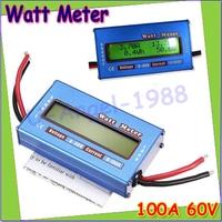 1 개 새로운 디지털 LCD DC 60 볼트/100A 균형 전압 RC 배터리 전원 분석기