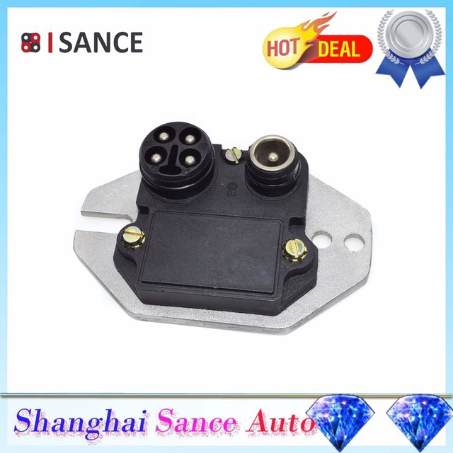 US $19 4 10% OFF|ISANCE Ignition Control Module ICM 0025452632H 0025452632  For Mercedes Benz R107 W126 W201 190E 380SE 380SEC 380SEL 380SL 500SEC-in