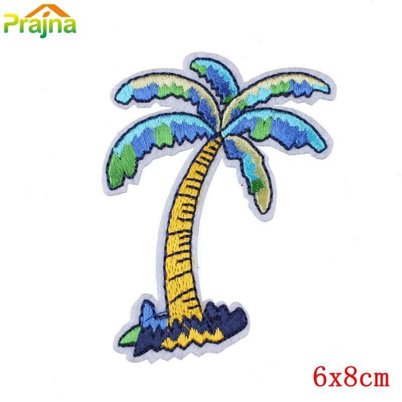 Prajna Kapal Surf Patch Besi Pada Patch Kapal Bordir Patch untuk Pakaian dengan Harga Murah Stiker Aksesoris Sepatu Bordiran D