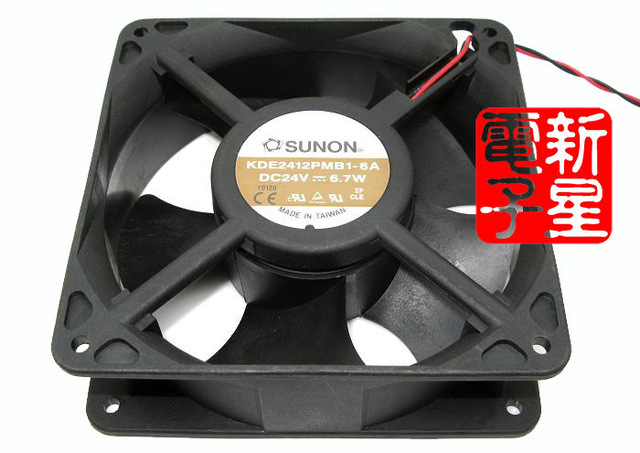 New 24V 6.7W KDE2412PMB1-6A 12038 frequency converter cooling fan