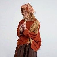 IRINAY085 2019 SS New Collection original design batwing sleeve oversized casual t shirt women top