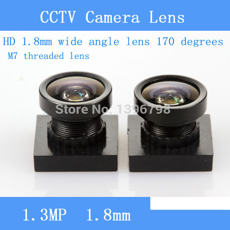 PU`Aimetis CCTV lens HD M7 short 1.8MM 170 degree wide angle lens micro car / door / surveillance camera pu aimetis hd mini surveillance cameras 720p hd 170 degree wide viewing angle usb2 0 cctv camera module