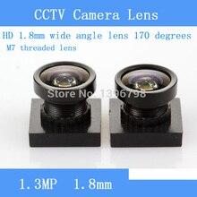 CCTV lens HD M7 short 1.8MM 170 degree wide angle lens micro car / door / surveillance camera