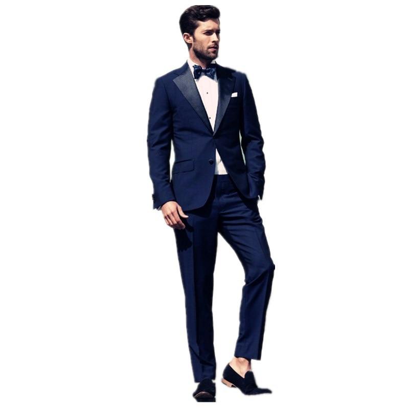 Aliexpress.com : Buy Groom Tuxedos Wedding Suit Men fashionable ...