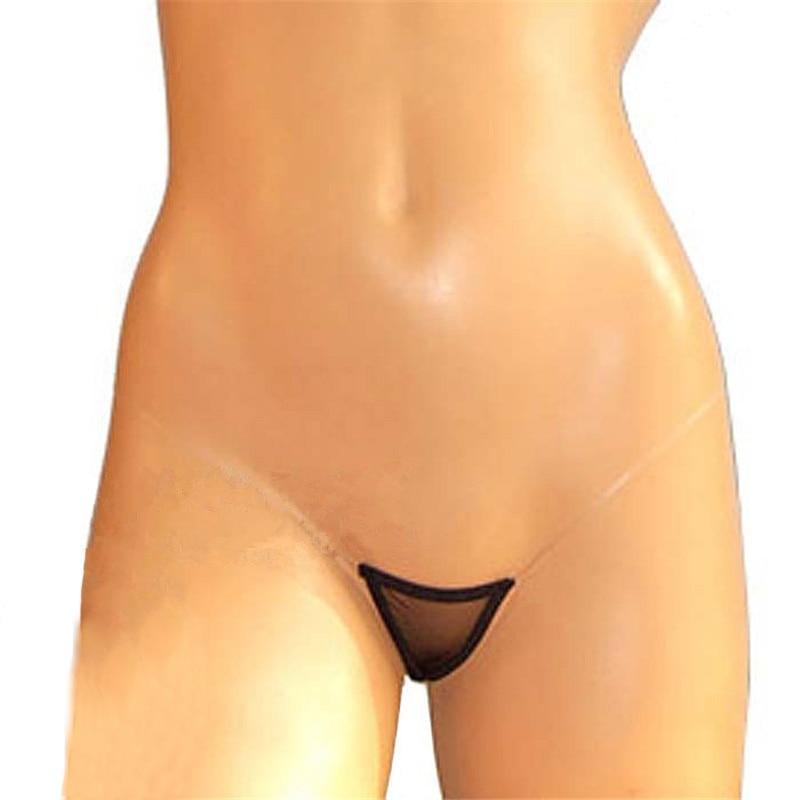 Seamless Sexy Thongs Women Mini Micro Bikini G Strings Tanga Low Rise Transparent Sheer Panties T Back Erotic Lingerie Underwear