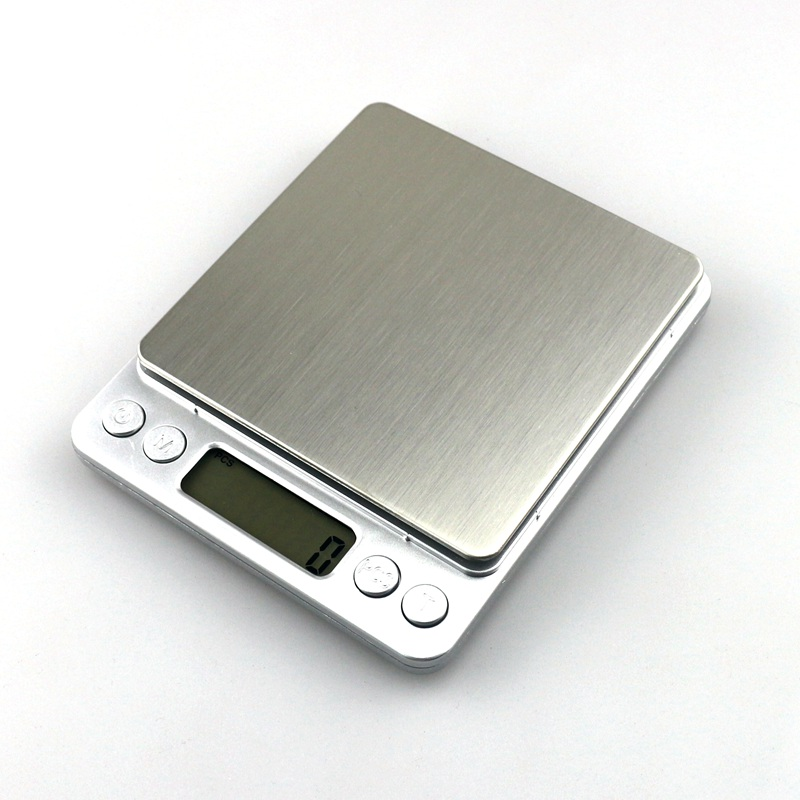 3000 g / 0,1 g skaitmeninės virtuvės svarstyklės svorio balanso - Matavimo prietaisai - Nuotrauka 2