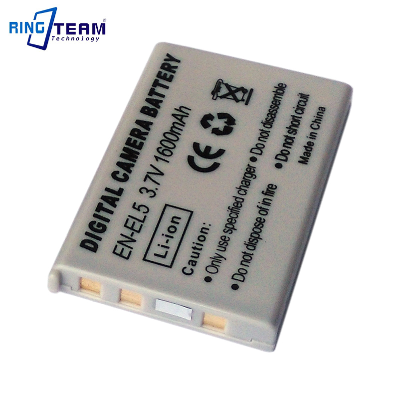 Digital Battery EN-EL5 ENEL5 for Nikon Coolpix P4 P80 P90 P100 P500 P510 P520 P530 P5000 P5100 5200 7900 P6000 3700 4200 Cameras