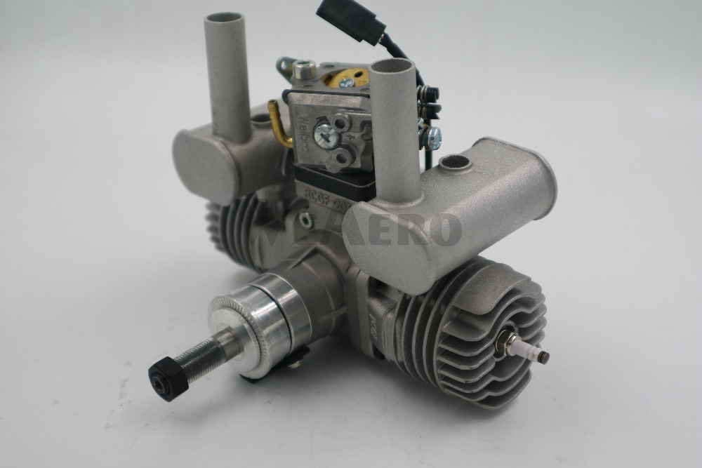 RCGF 21cc Dual Cylinder Petrol Gasoline Engine for RC Airplane