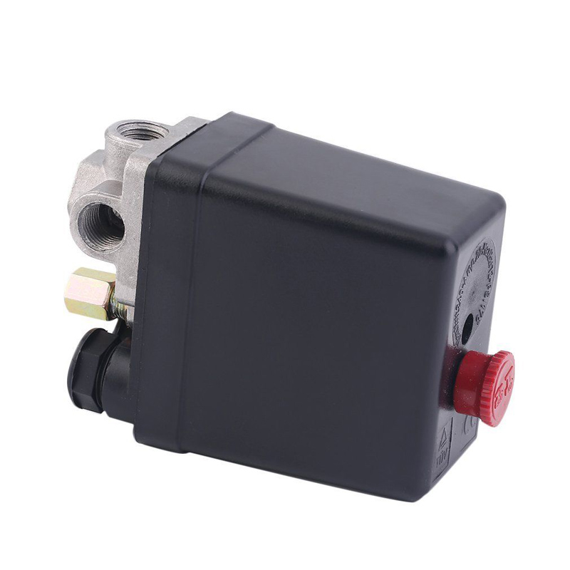 3-phase Air Pressure Switch 1/4inch Female Thread Compressor Switch For Compressor Pressure Switch 380/400V air compressor 0 6 1 5mpa adjustable pressure switch g3 8 threaded