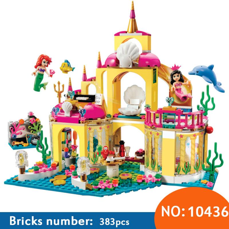 AIBOULLY 10436 Princess Undersea Palace font b Model b font font b Building b font Kits