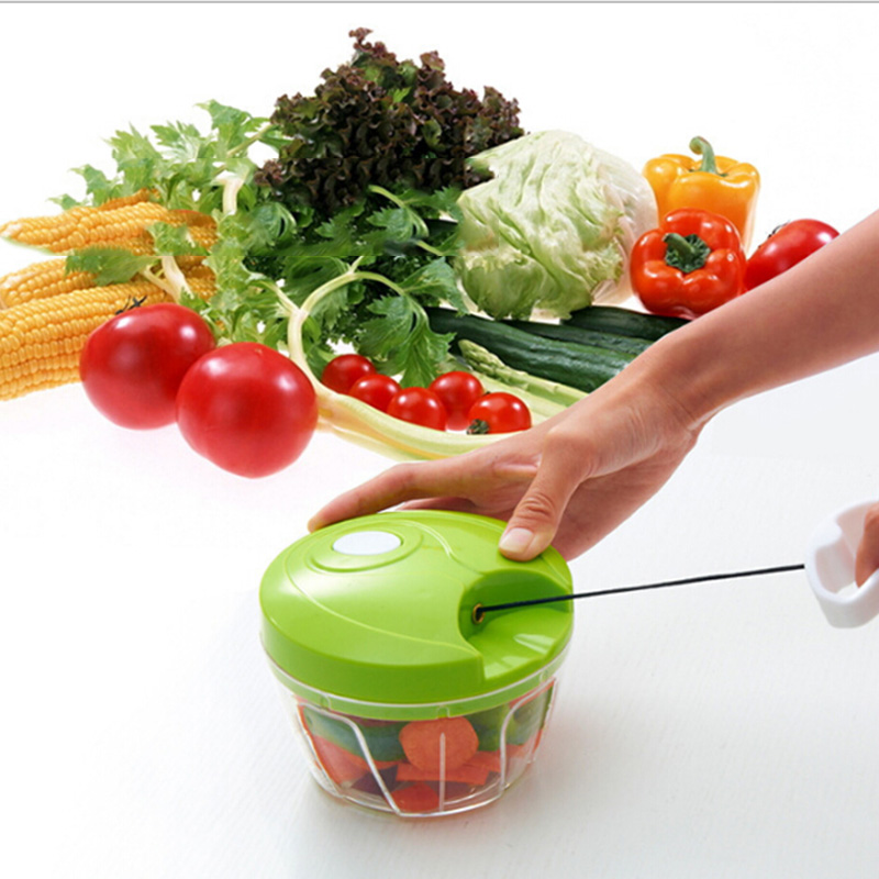 Essential Kitchen Tools Onion Vegetable Chopper Multifunctional Hand Speedy Chopper Vegetable Fruits Chopped Shredders & Slicers