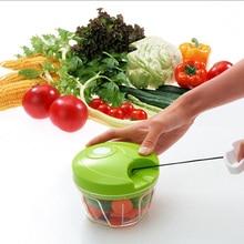 Essential Kitchen Tools Onion Vegetable Chopper Multifunctional Hand Speedy Chopper Vegetable Fruits Chopped Shredders & Slicers