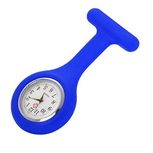 Relogio Feminino Clocks Women Ladies Watch Silicone Nurse Watches Brooch Tunic W