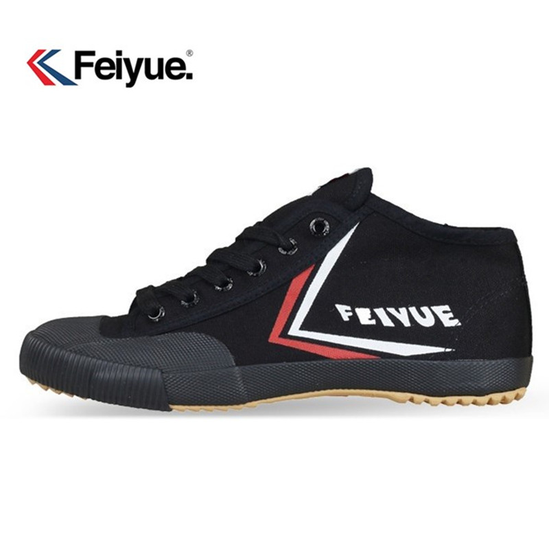 Feiyue Top One Men Women Sneakers Shoes Original Kung Fu Improve Black Shoes, New Retro Martial Arts Shoes