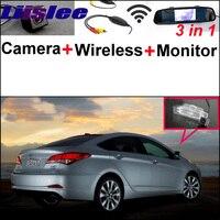 Para Hyundai i40 2011 ~ 2015 Receptor Sem Fio + 3 in1 Traseira Especial View Camera + Monitor Espelho DIY Fácil Sistema de Back Up de Estacionamento rear view camera rear camera view monitor rear view camera -