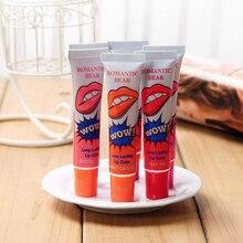 Romantic Bear 1PCS Lip Stick Long Lasting Lipstick Tint Amazing 6 Colors Waterproof Liquid Makeup  Tear Pull Gloss