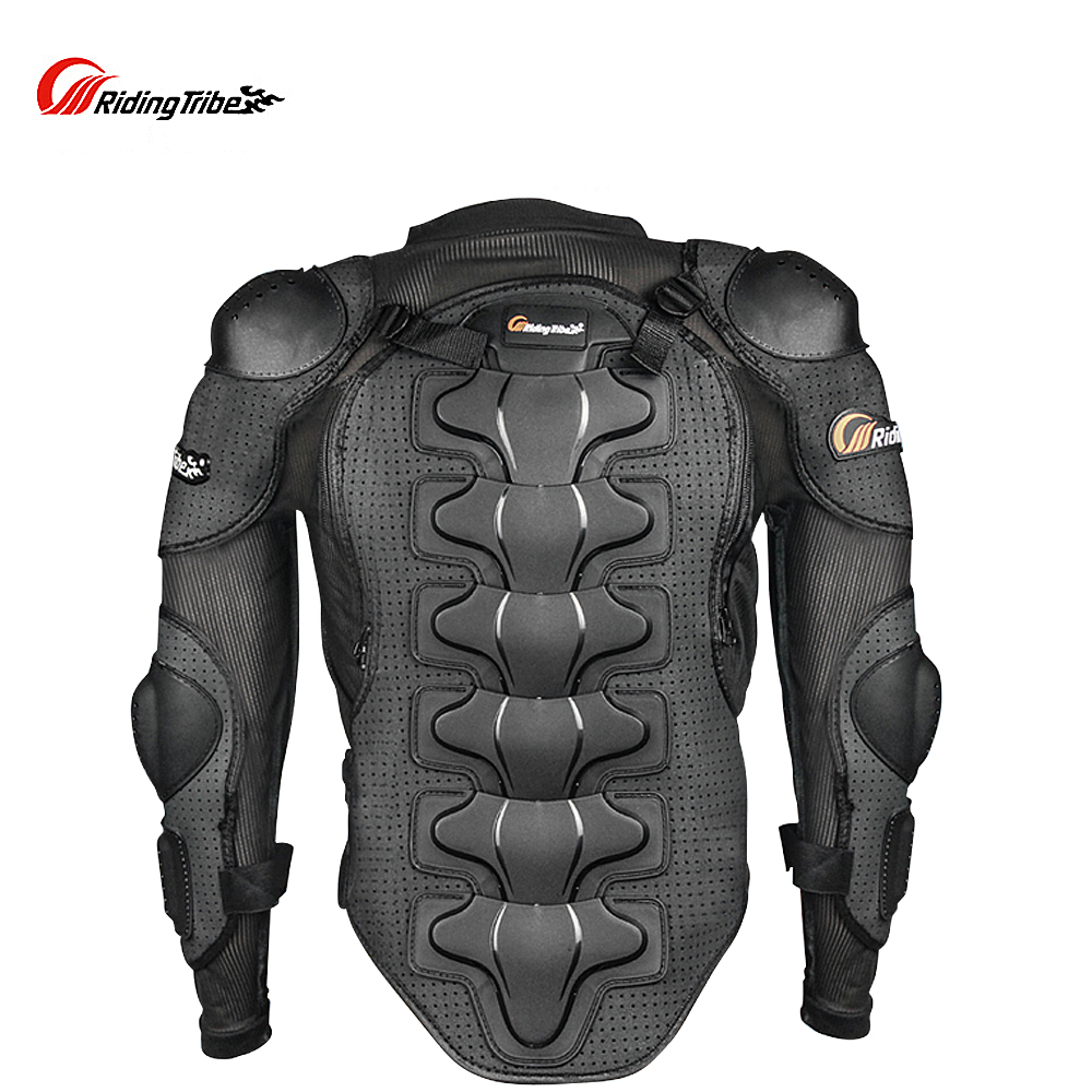 Riding Tribe Motorcycle Racing Body Armor Jacket Off-Road Safety Protection Motocross Clothing Chest Spine Protector Gear herobiker armor removable neck protection guards riding skating motorcycle racing protective gear full body armor protectors