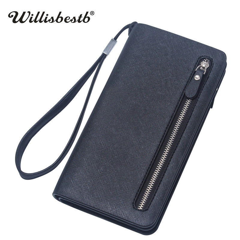 2018 New Brand Ladies Purses For Women Wallets Leather Long Zipper Clutch Coin Wallet Female Woman Phone Purse Carteras Mujer women wallet female 2016 coin purses zipper famous brand designer pu leather lady long clutch wallets hold mobile phone cards