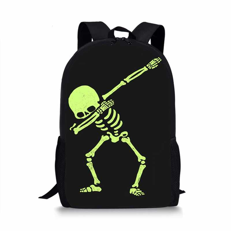 Detail Feedback Questions about Dabbing Skeleton Dab Hip Hop Skull  Pringting Backpack For Teenagers Boys School Bags Kids Student Book Bag  Backpacks Mochila ... e700deb964b3e