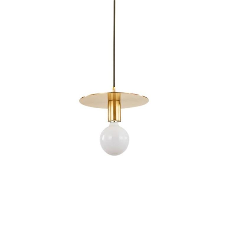 Nordic Minimalist Bedroom Bedside Lamp Modern Brass
