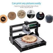 CNC 3018 bricolage CNC routeur Kit 2 en 1 Mini Laser gravure Machine GRBL contrôle 3 axes sculpture sur bois fraisage gravure Machine