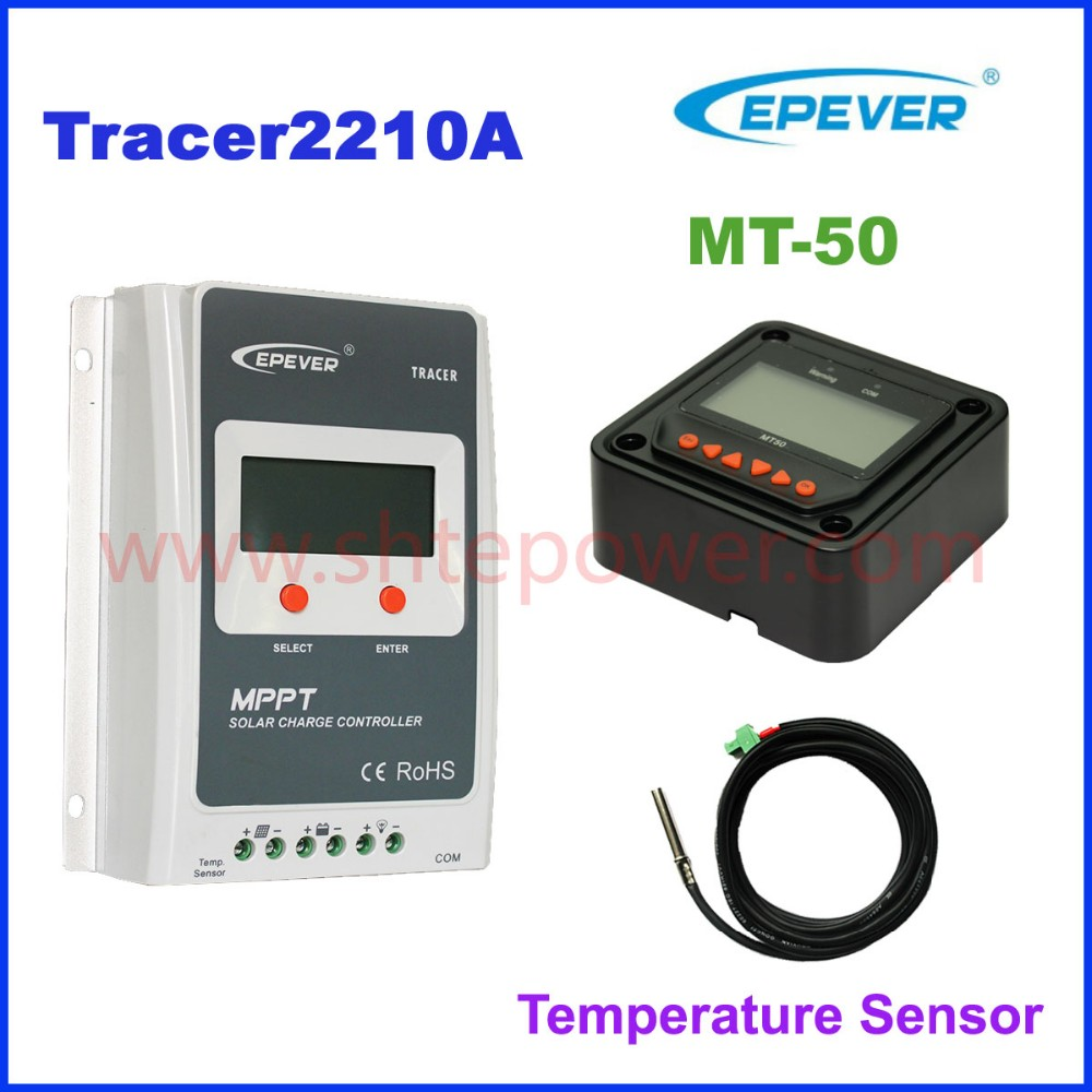 12V 24V 20A MPPT solar charge controller Tracer2210A solar charge mppt controller for solar system tracer2210an 2210an epsloar 20a mppt solar charge controller 12v 24v lcd diaplay 2210a tracer2210a