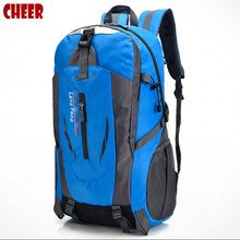 Backpack fashion student school bags nylon Waterproof Mountaineering bags backpacks Laptop bag High capacity Casual travel bag