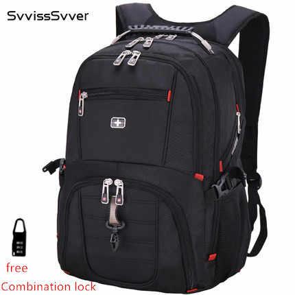 Многофункциональный большой емкости мужской сумка мода путешествия usb зарядка Водонепроницаемый anti-theft 15,6 дюймов 17-дюймовый ноутбук рюкзак мужчины