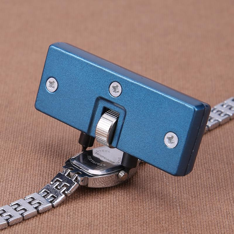 Watchmaker Watch Tools Watch Back Case Opener Screw Wrench Cover Remover Battery Change Watch Repair Tool Kit Watchmaker Tool цена