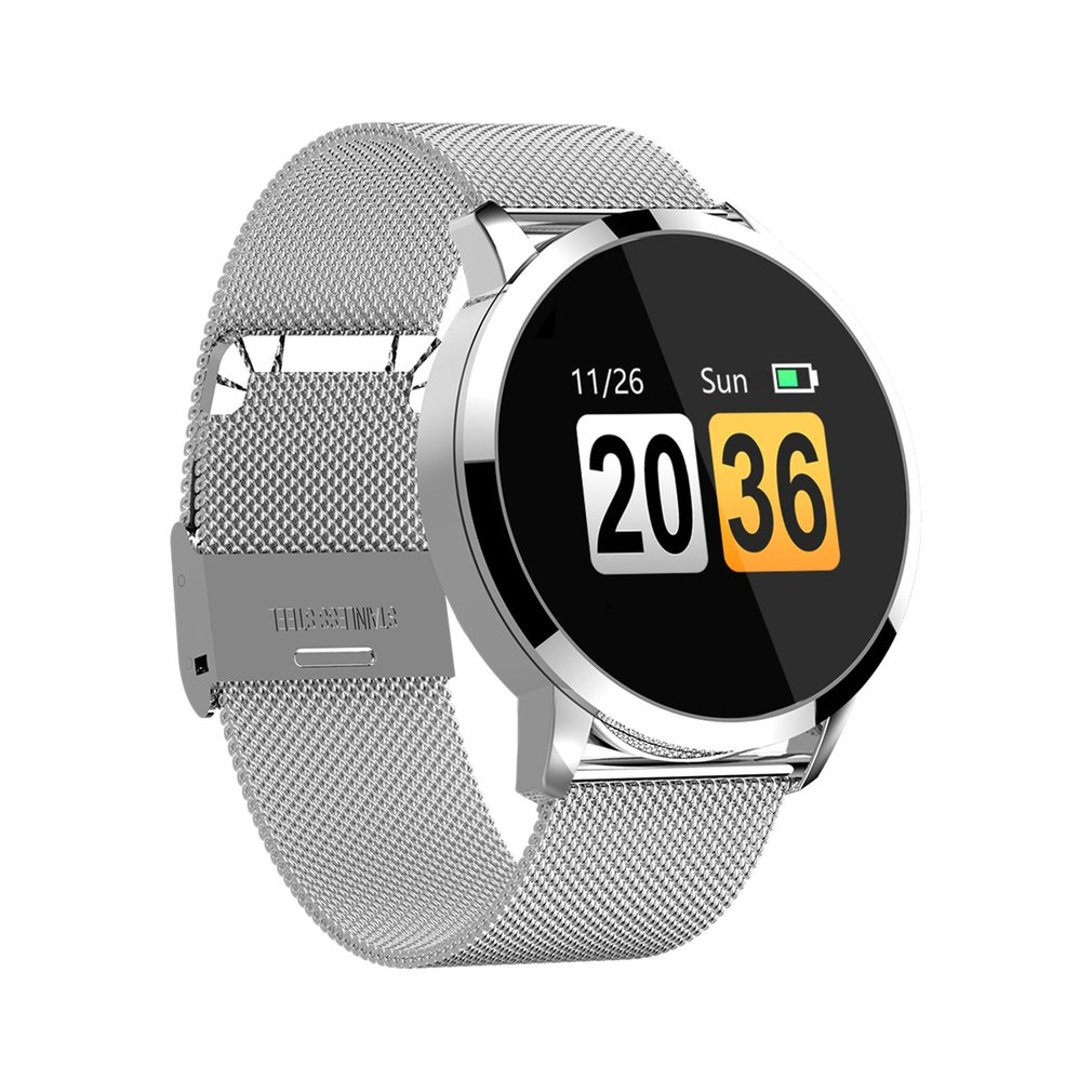 0.95inch OLED Colorful Screen Q8 Smart Watch Waterproof Sport Tracker Fitness Bracelet Health Sleep Smartband стоимость