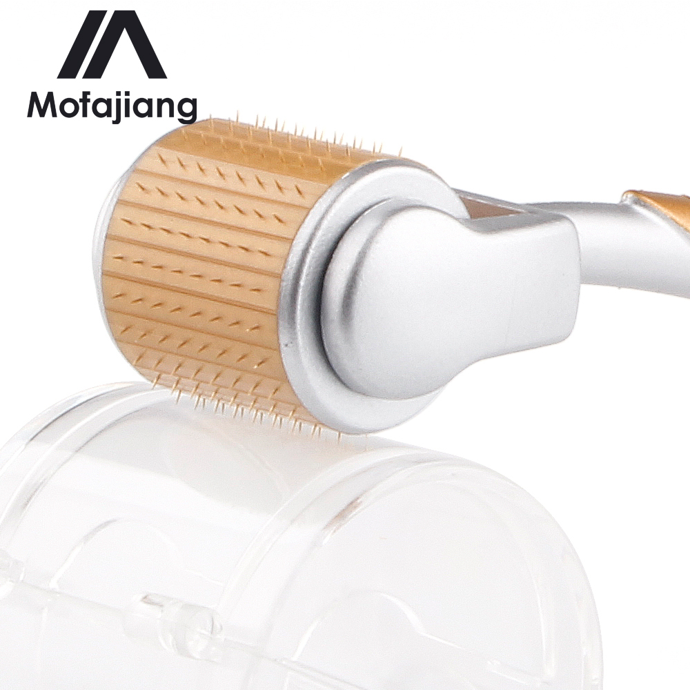 Grade Titanium Micro Needle Roller Master Micro Needle System Skin Anti-Ageing Derma Roller Beauty Tool J35